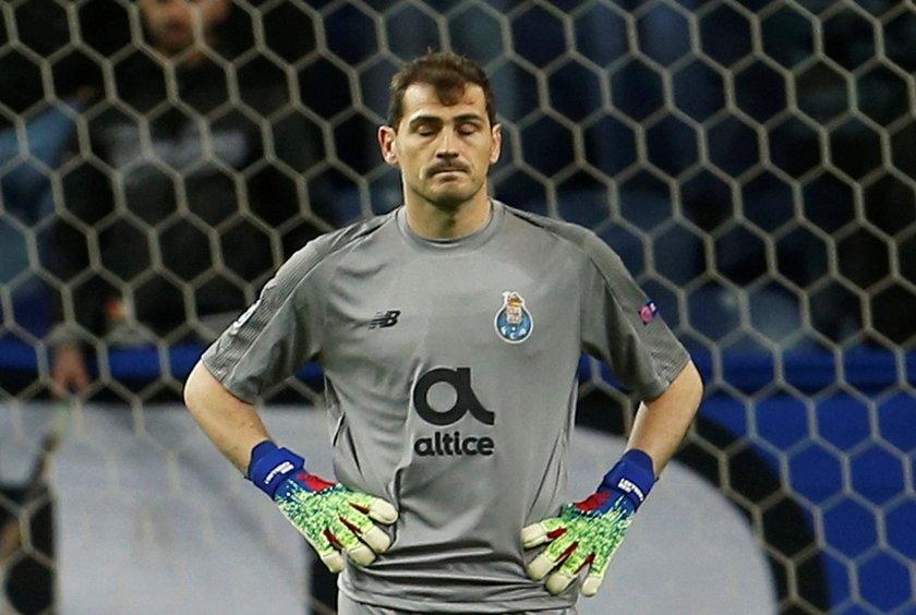 Portugalia: Iker Casillas miał zawał. Piłkarz FC Porto trafił do szpitala