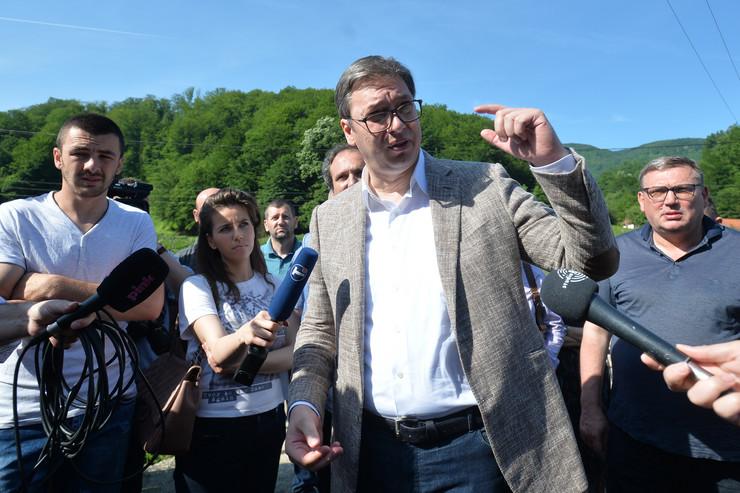 Aleksandar Vučić, krupanj