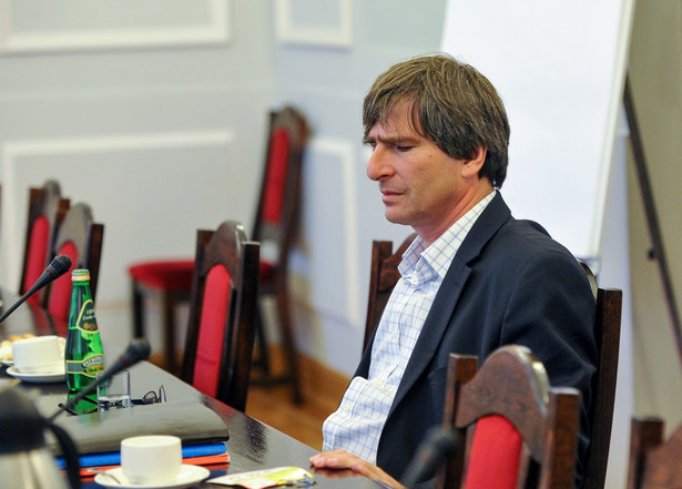 Kandydat na prezesa TVP Krzysztof Skowroński, PAP/Marcin Obara