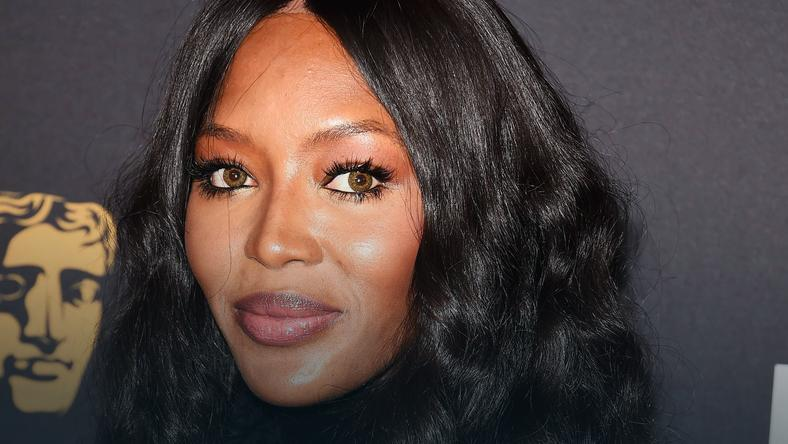 Naomi Campbell na BAFTA Tea Party 2018