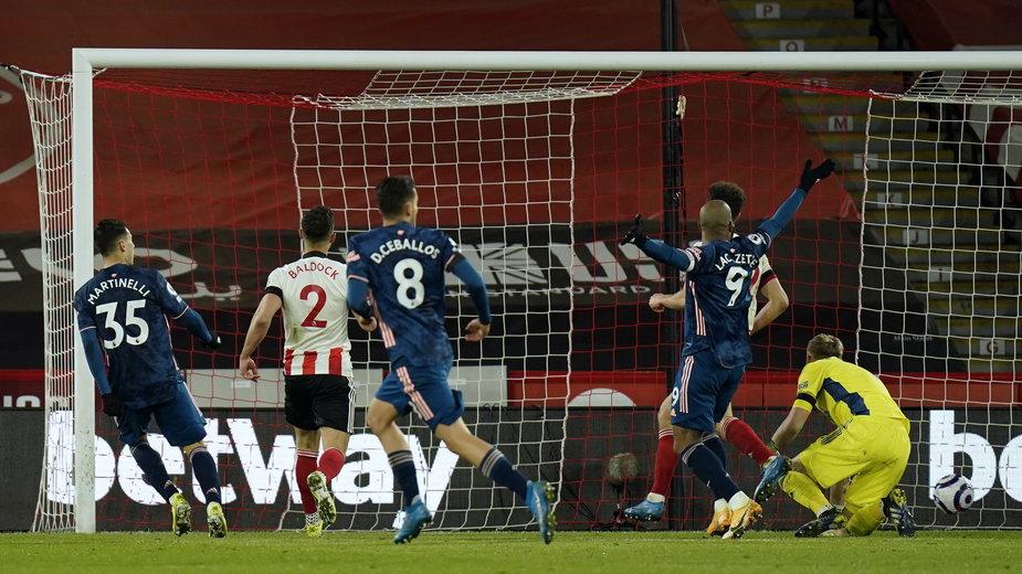 Sheffield United - Arsenal Londyn