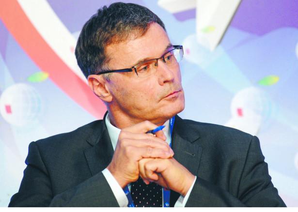 Paweł Wojciechowski, główny ekonomista ZUS, b. minister finansów i podsekretarz stanu w Ministerstwie Spraw Zagranicznych