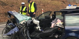 Tragiczny wypadek w Kościerzynie. Nie żyje niemowlę, sześć osób rannych