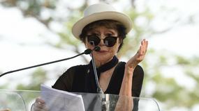 Yoko Ono organizuje znak pokoju dla Johna Lennona