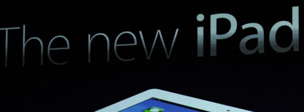 Tim Cook prezentuje najnowszy model iPada