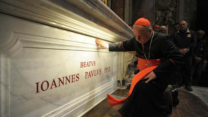 Grób Jana Pawła II, fot. PAP/EPA