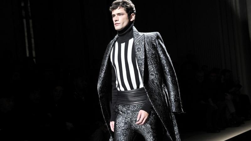 Pokazy mody męskiej w Paryżu - Balmain na sezon jesień-zima 2016/2017