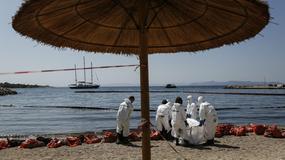 Grecja: zakaz kąpieli z powodu wycieku ropy