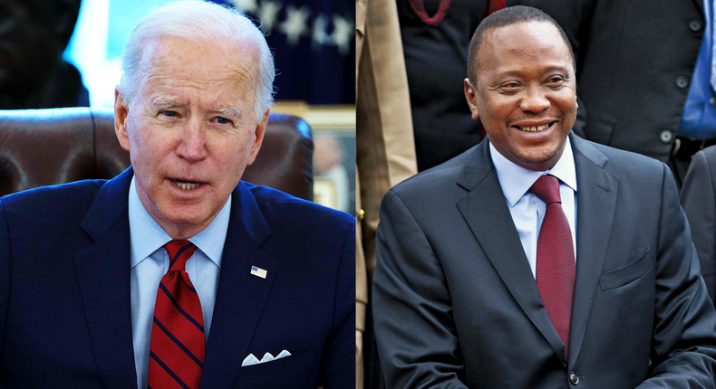 Details of Joe Biden's call with President Uhuru