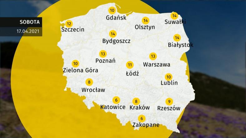Prognoza pogody dla Polski. Jaka pogoda w sobotę 17 ...