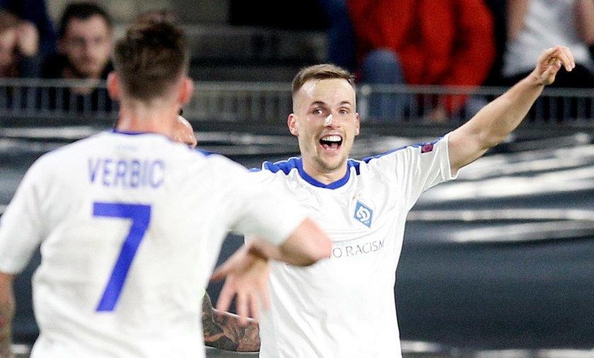 Tomasz Kędziora zaliczył asystęw meczu z AZ Alkmaar