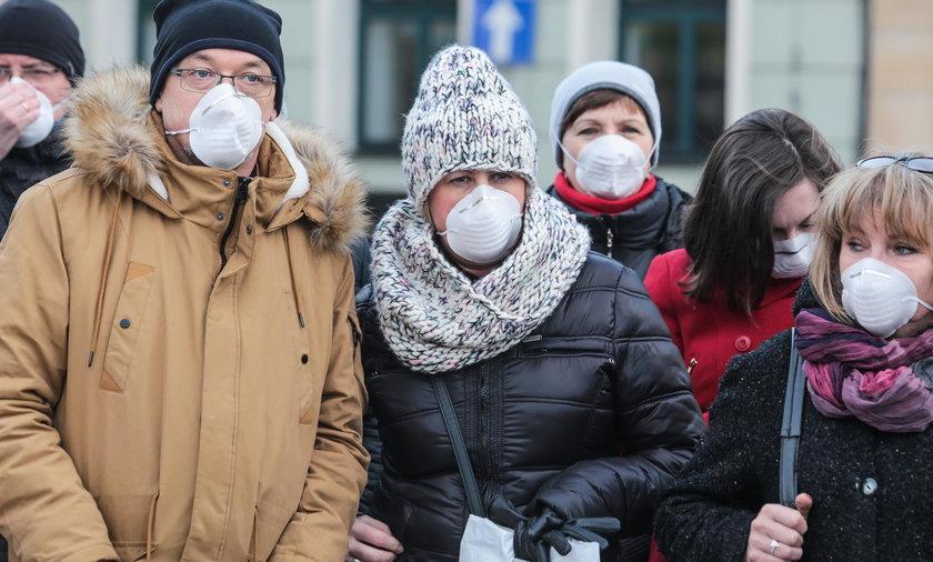 Rybnik. Mieszkańcy chorują z powodu smogu