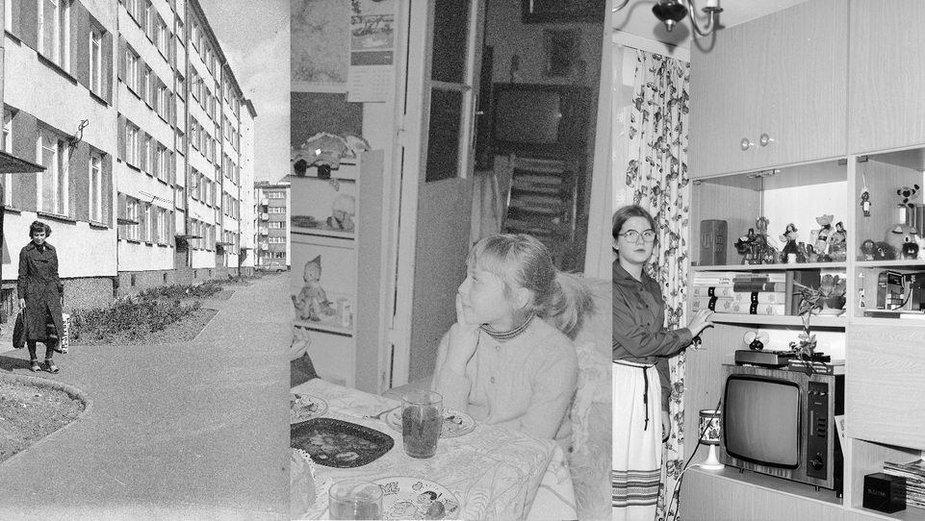 Meblościanka, boazeria, Rubin i paprotka - jak się mieszkało w latach 80.?
