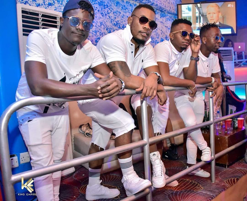 "The Mafik with Shetta. Tanzanian Boys Band ""The Mafik"" loses one of its members"