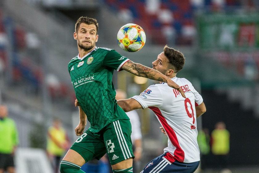 Potem były niezłe mecze z Lechią, Pogonią i Górnikiem