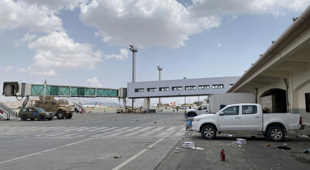 Afganistan, lotnisko w Kabulu EPA/STRINGER Dostawca: PAP/EPA.