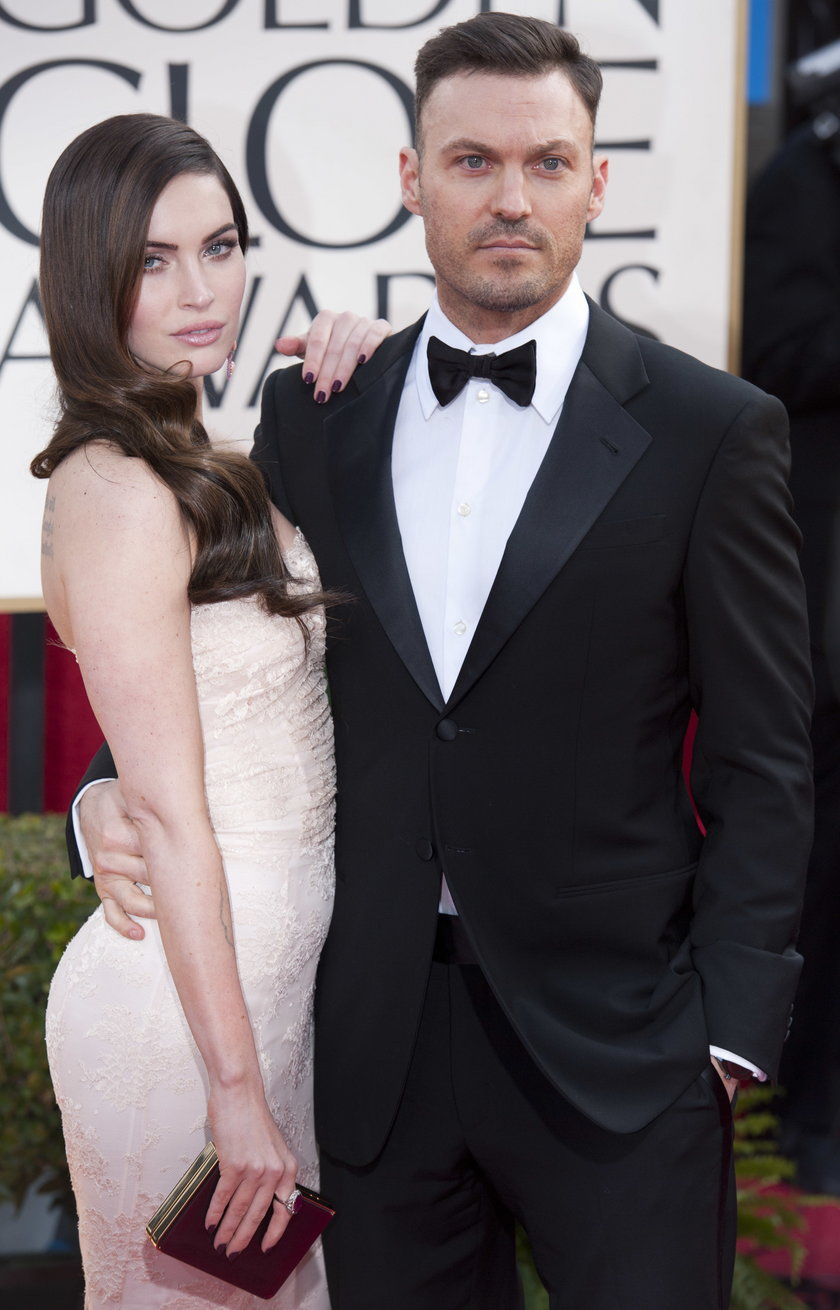 Megan Fox z mężem