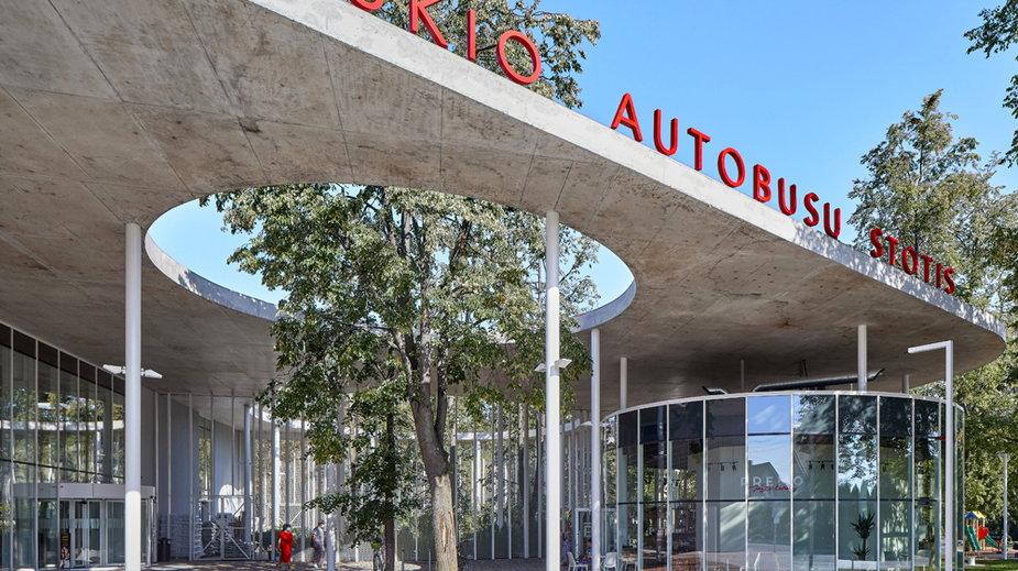 Projekt nowoczesnego dworca autobusowego w mieście Wyłkowyszki