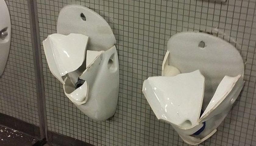 Nawet 5 lat grozi niemieckim fanom za zdemolowanie toalet na Stadionie Narodowym. Obcokrajowcy staną przed sądem w trybie przyspieszonym.