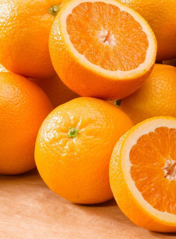 Pomorandža, najčešći zimski izvor C-vitamina