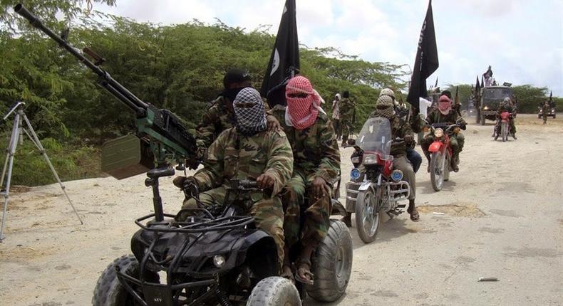 Boko Haram terrorists.