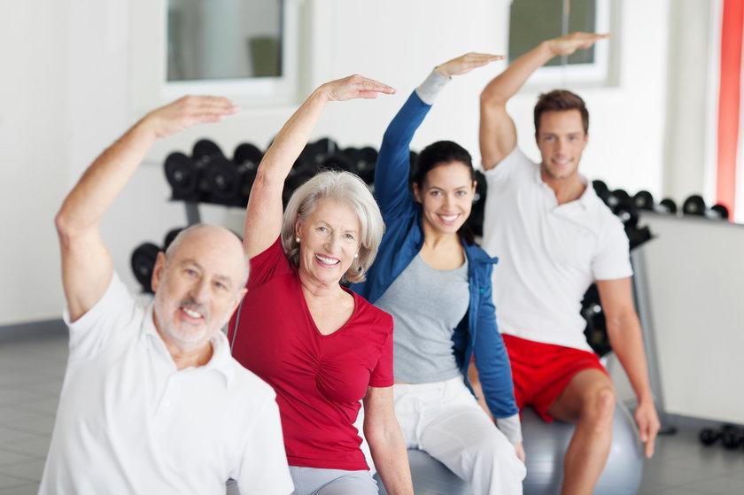 Ćwiczenia grupowe