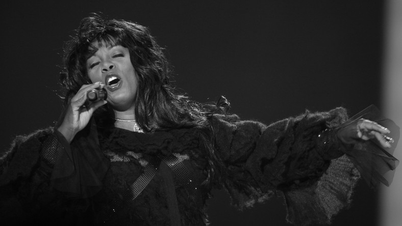 Amerykańska piosenkarka Donna Summer