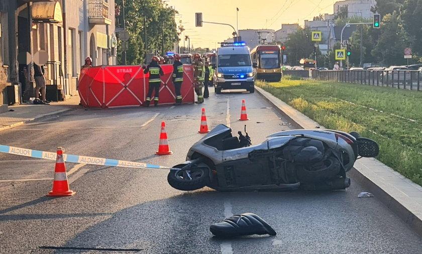 Śmiertelny wypadek w Warszawie.