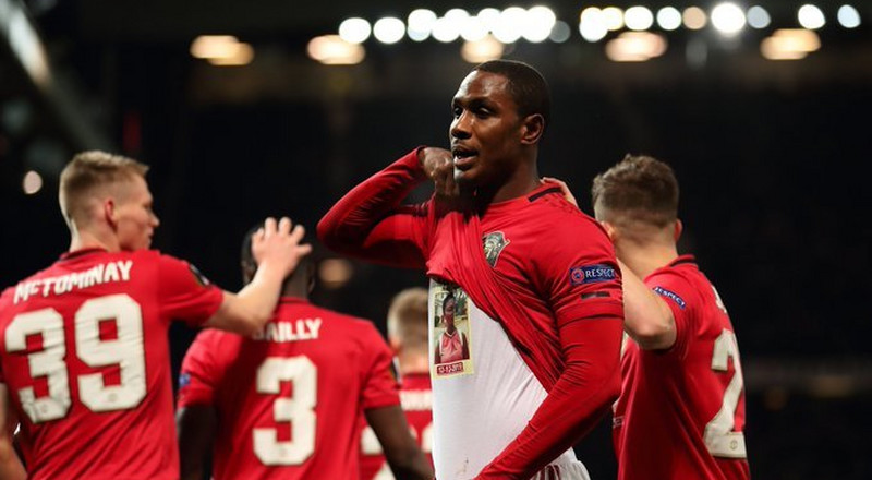 Odion Ighalo dedicates first Manchester United goal to his late sister