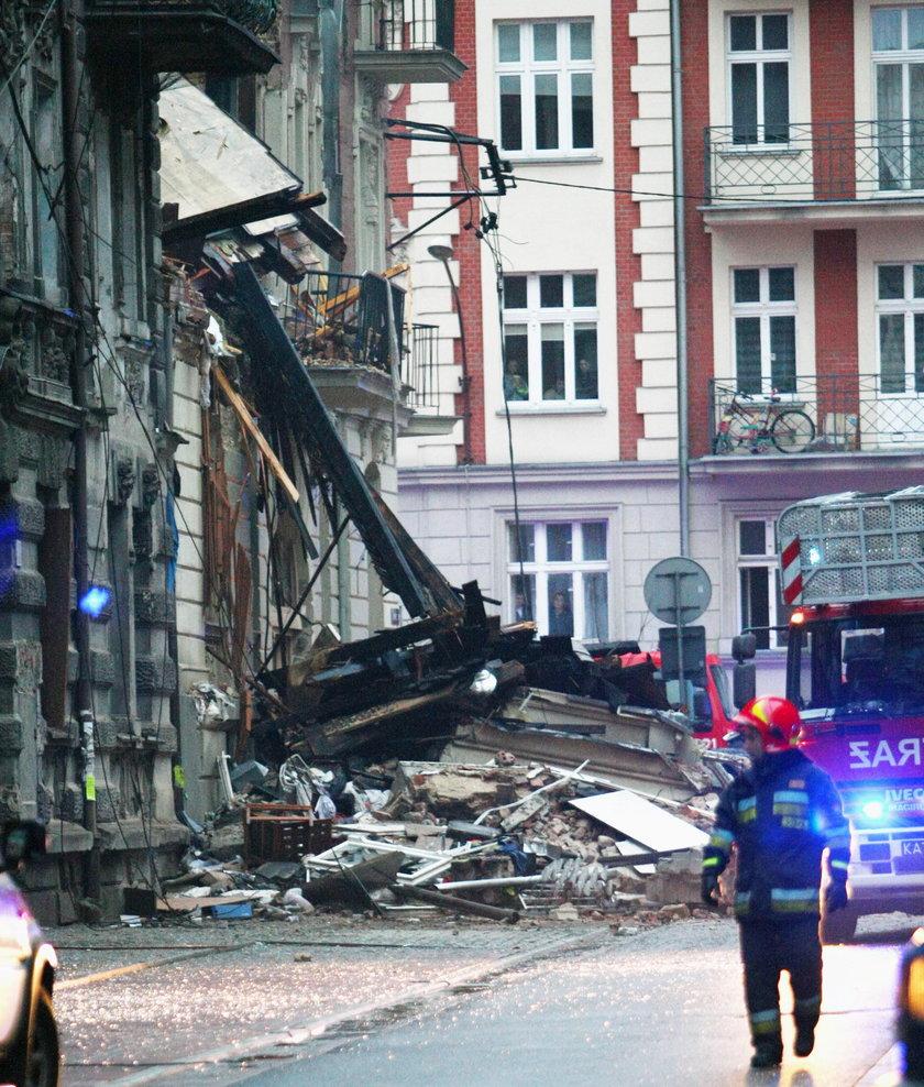 Ta wyglądała po wybuchu kamienicy przy ul. Chopina