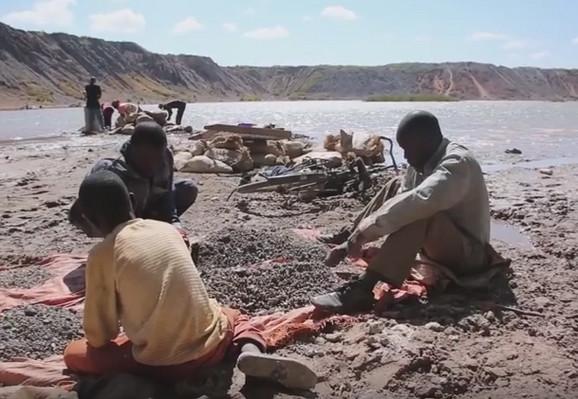Deca rudari u Kongu
