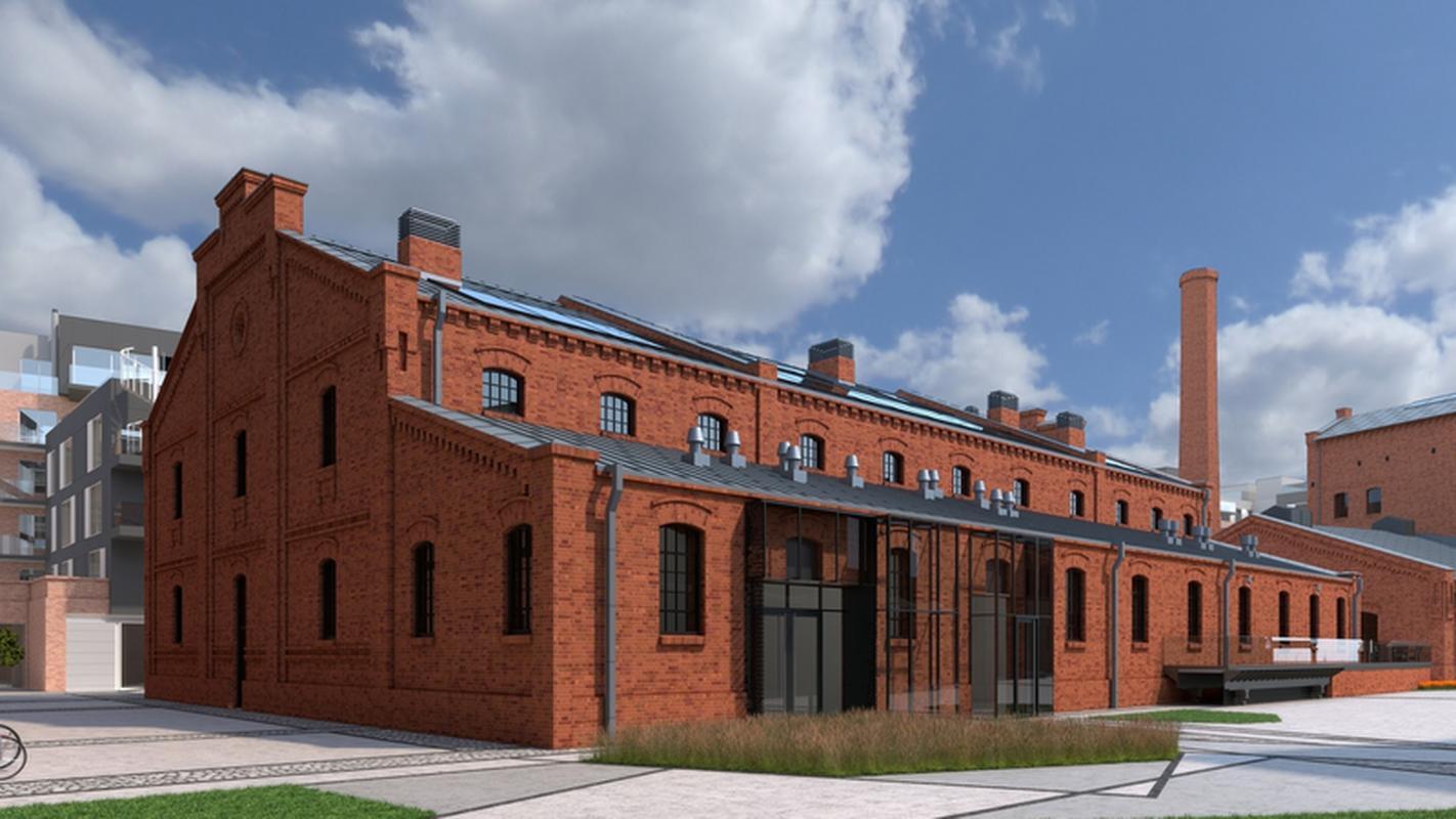 Wizualizacja nowego budynku Campus Warsaw