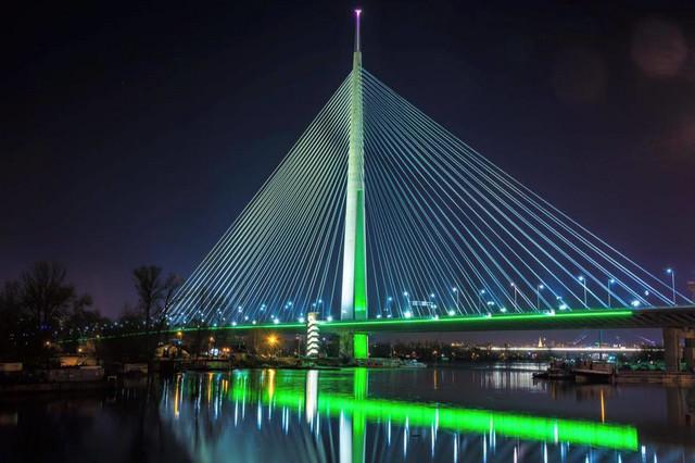 Most na Adi, kao i druge lokacije će ozeleneti