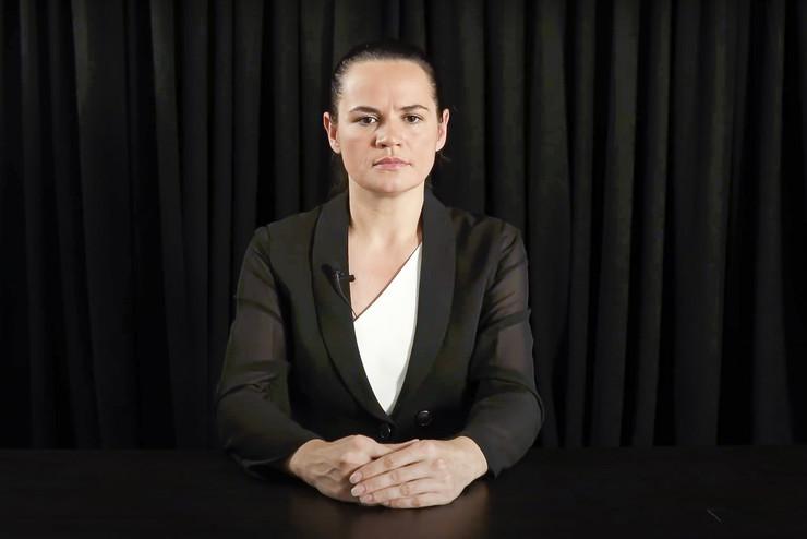 Tihanovska razgovarala sa generalnim sekretarom OEBS-a