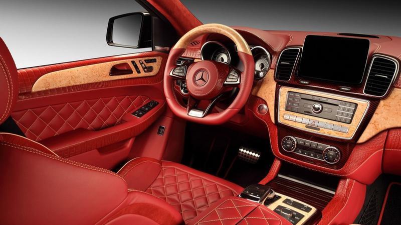 Mercedes GLE w wersji Inferno