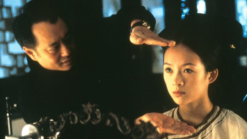 """Ang Lee i Ziyi Zhang na planie """"Przyczajonego tygrysa, ukrytego smoka"""""""