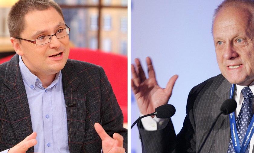 Tomasz Terlikowski i Stefan Niesiołowski