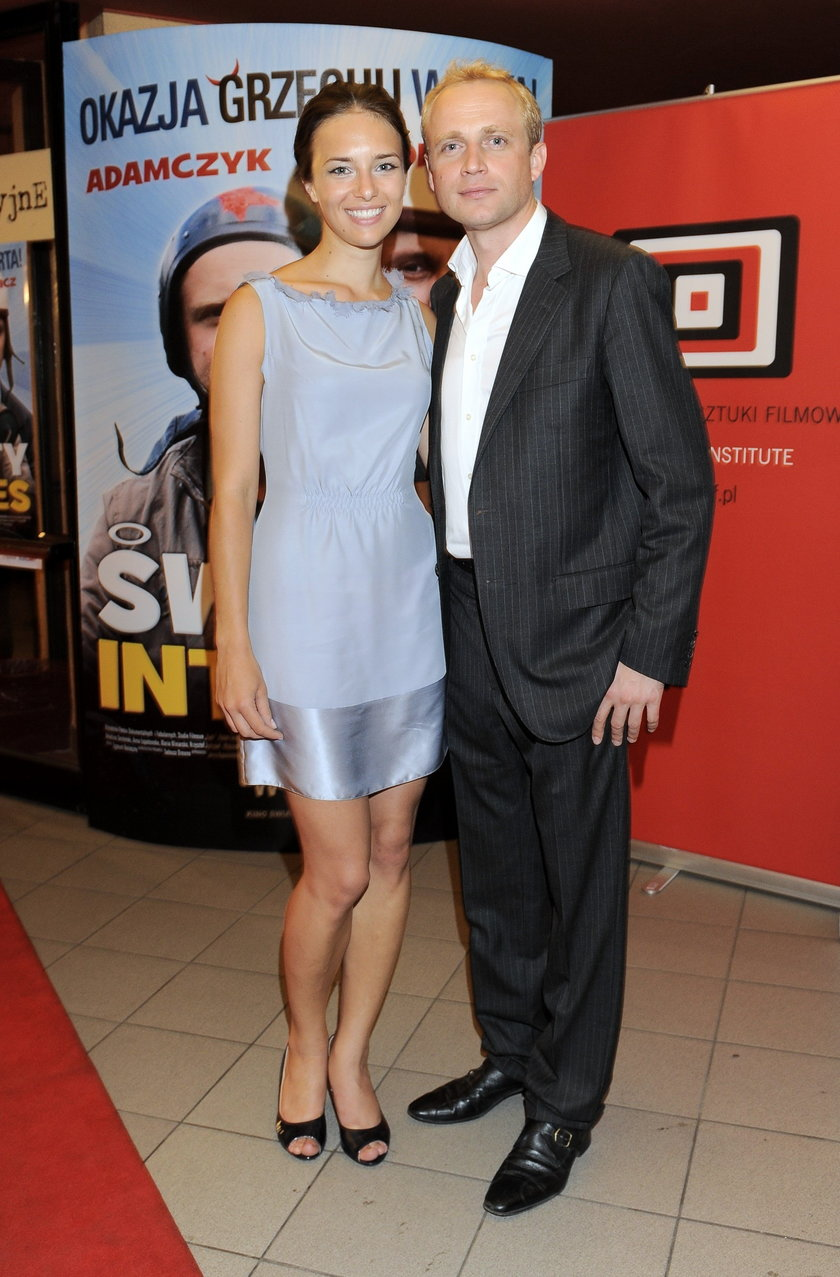 Anna Czartoryska i Piotr Adamczyk