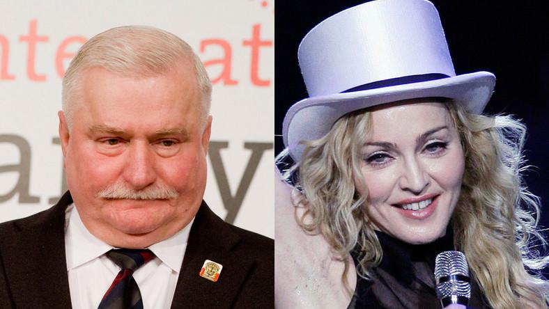 Wałęsa kontra Madonna
