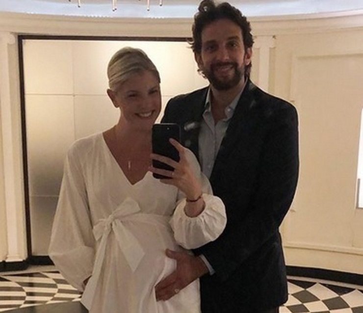 Nik Kordero sa suprugom