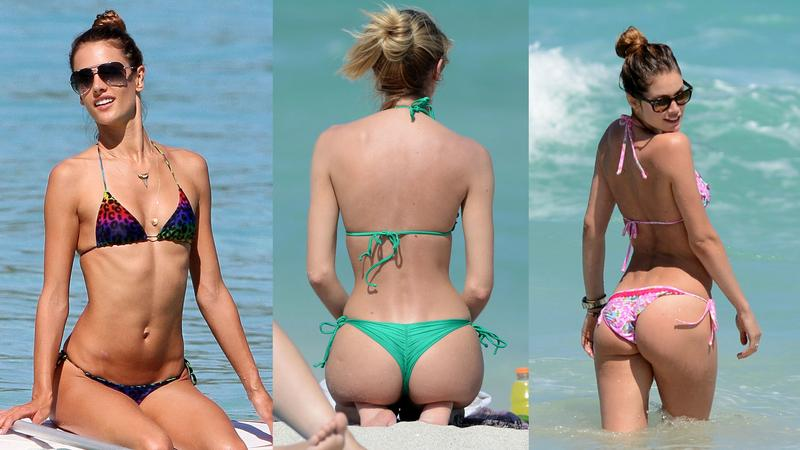 Seksowne modelki Victoria's Secret w bikini