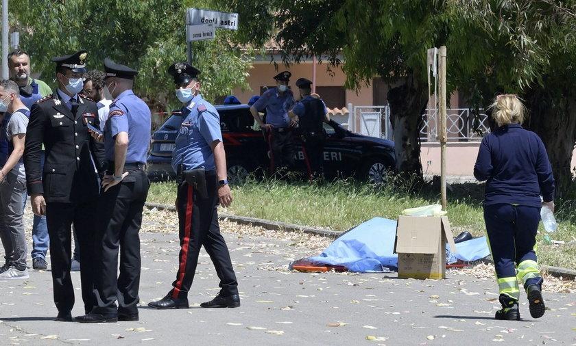 Strzelanina pod Rzymem. Zginęły 3 osoby, w tym dzieci.