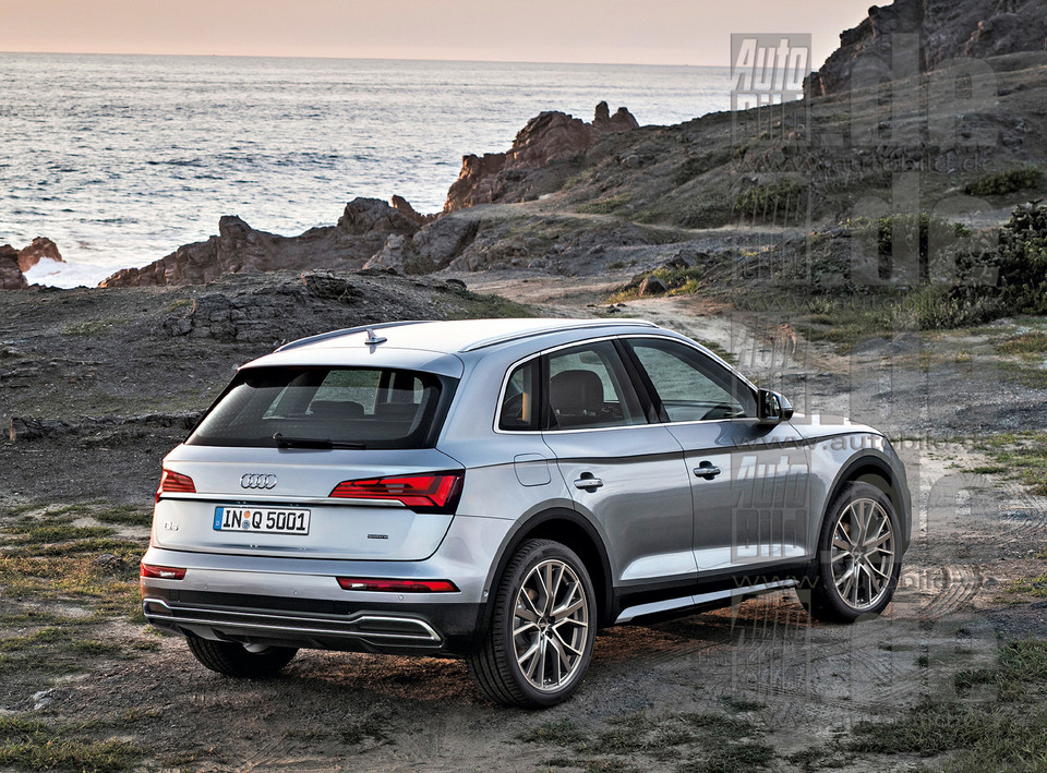 Face lifting Audi Q5 (2020 r.)