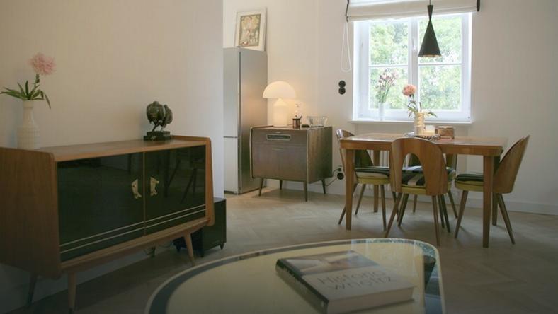 Mieszkanie na warszawskiej starówce