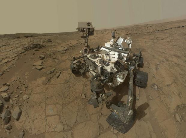 Sondy i pojazdy takie jak łazik Curiosity badają Marsa lub jego sąsiedztwo już od około 40 lat. fot. NASA