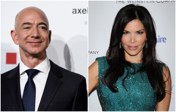 Bezos and Sanchez