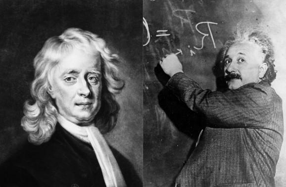 Njutn je otpao a i Ajnštajn se