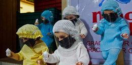Szok! W Meksyku furorę robią lalki z małym Jezusem w maseczce. Zobacz zdjęcia