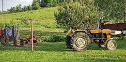 Traktor przejechał po dwuletnim chłopczyku