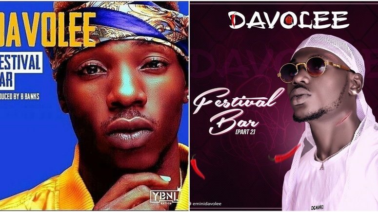 Davolee has released two parts of 'Festival Bar.' Which one is better? (Intagram/EminiDavolee)